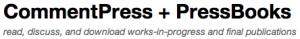 CommentPressBooks logo